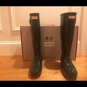 Original Tall Gloss Hunter Rain Boots